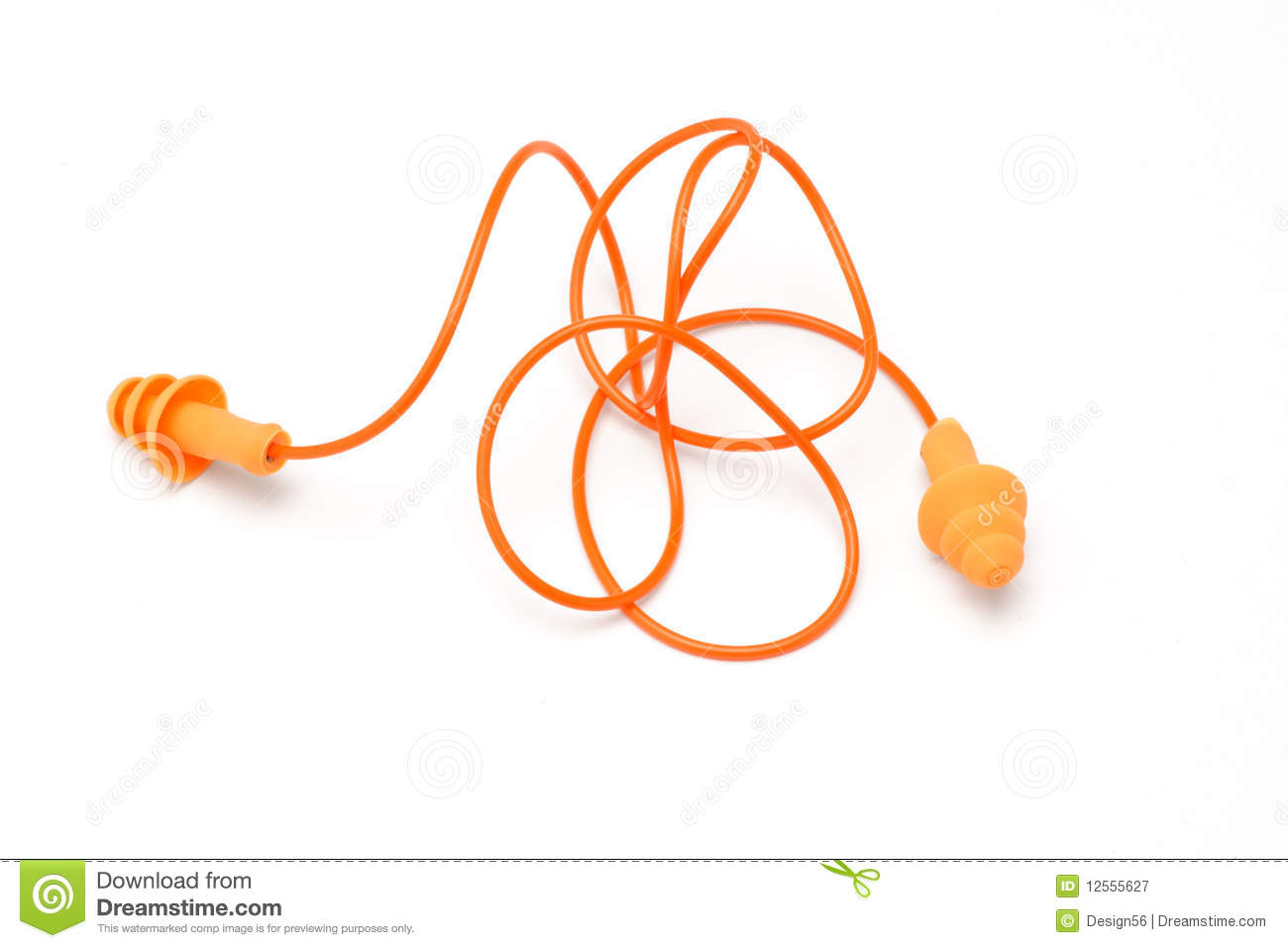 Ear Plugs Royalty Free Stock Photography.