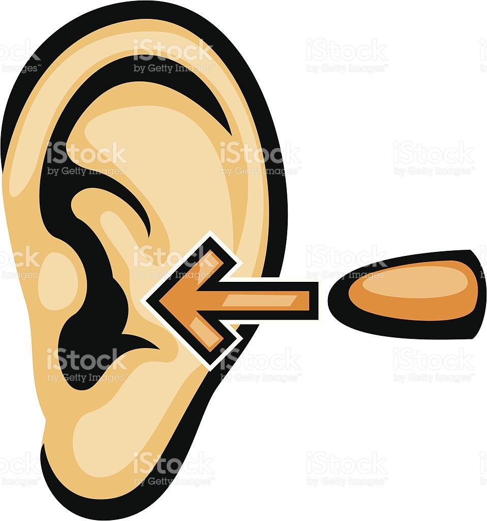 Wear Ear Plugs stock vector art 165806661.