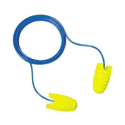 3M EARsoft Grippers Corded Ear Plugs, Safety Ear Plugs.