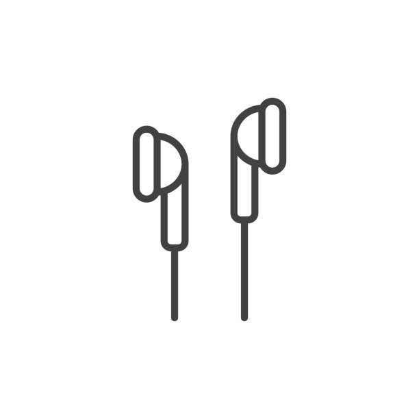 Best Earbuds Illustrations, Royalty.