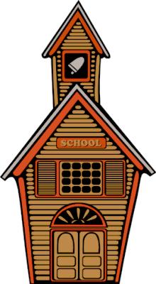 Free Clip Art School Building.