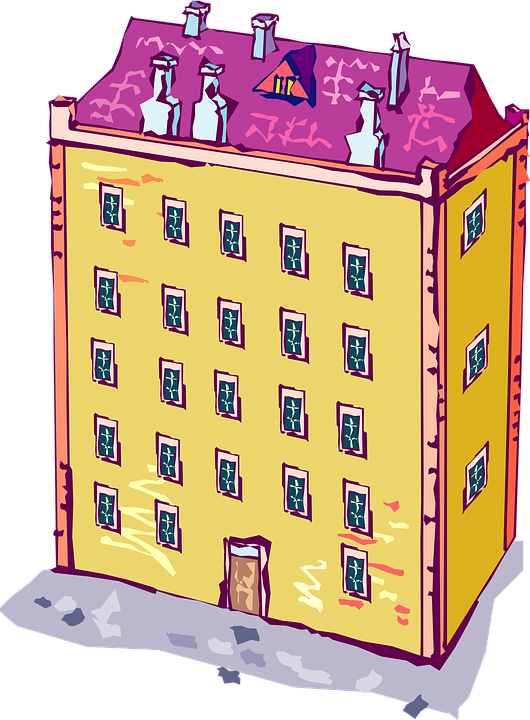 Free vector graphic: Apartment, Building, Home, Living.