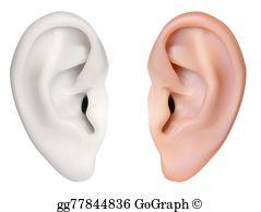 Ear Lobe Clip Art.