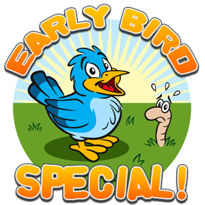 Early Bird Special clipart.