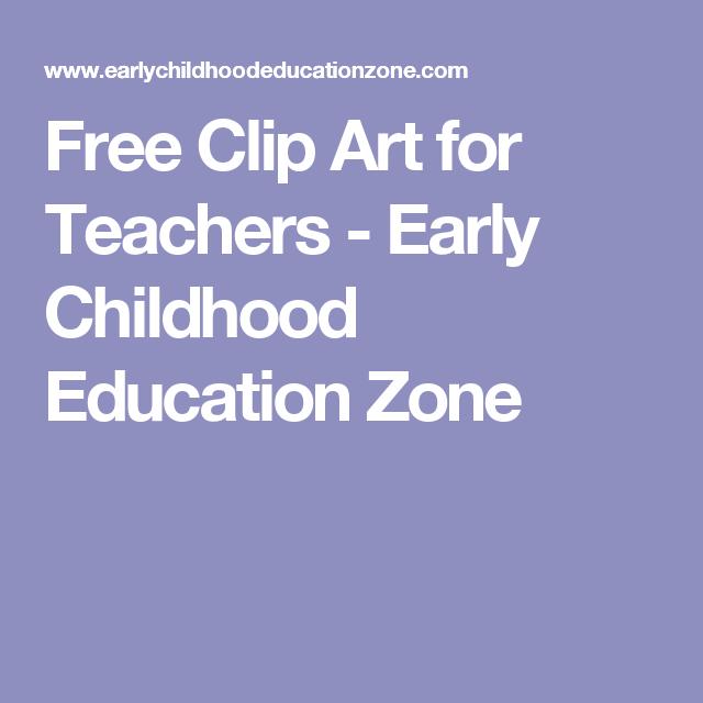 Free Clip Art for Teachers.