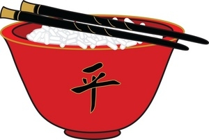 Chinese food stand clipart.