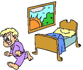 Get up clipart #4