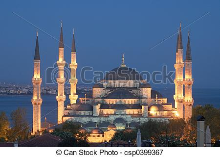 Picture of Main mosque of Istanbul.