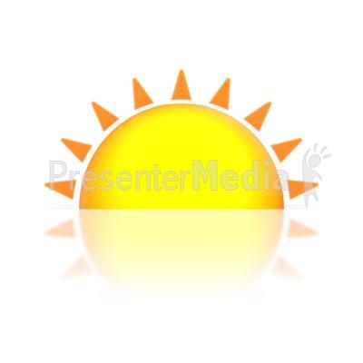 Sun down clipart - Clipground