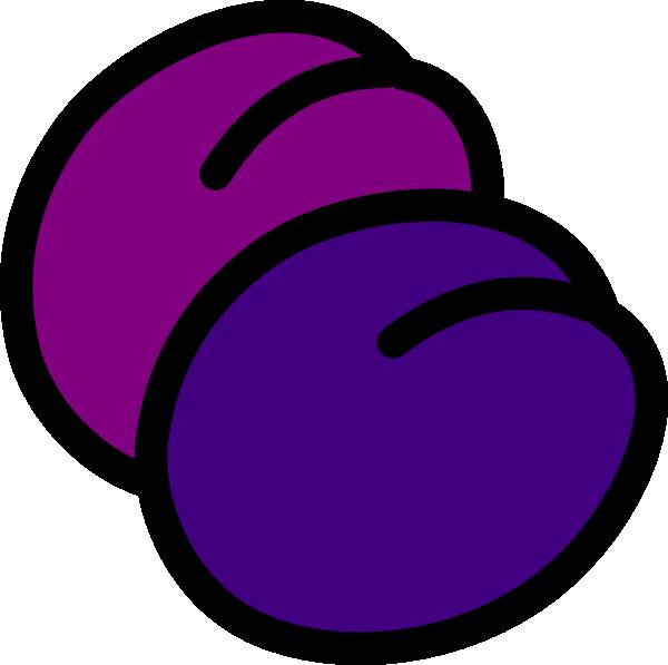 Plums Icon clip art Free Vector / 4Vector.