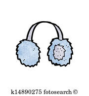 Ear Muffs Clip Art Vectors.