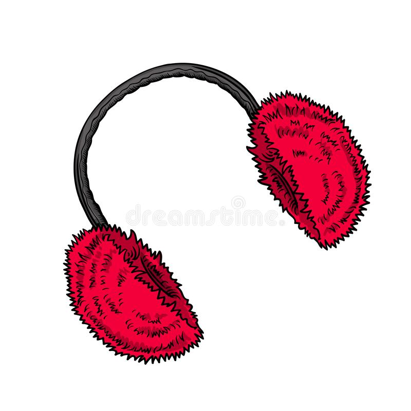 Earmuffs Stock Illustrations.