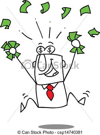 Vector of Earn money..