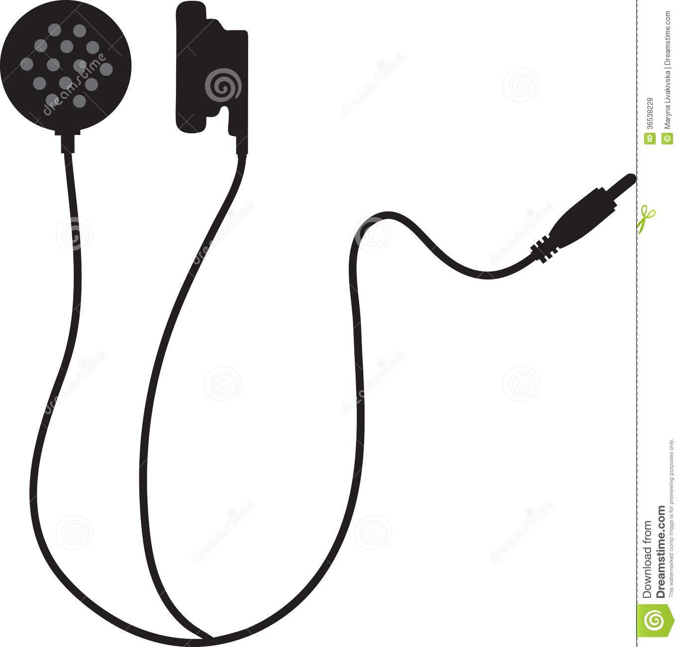 Clipart earphones.