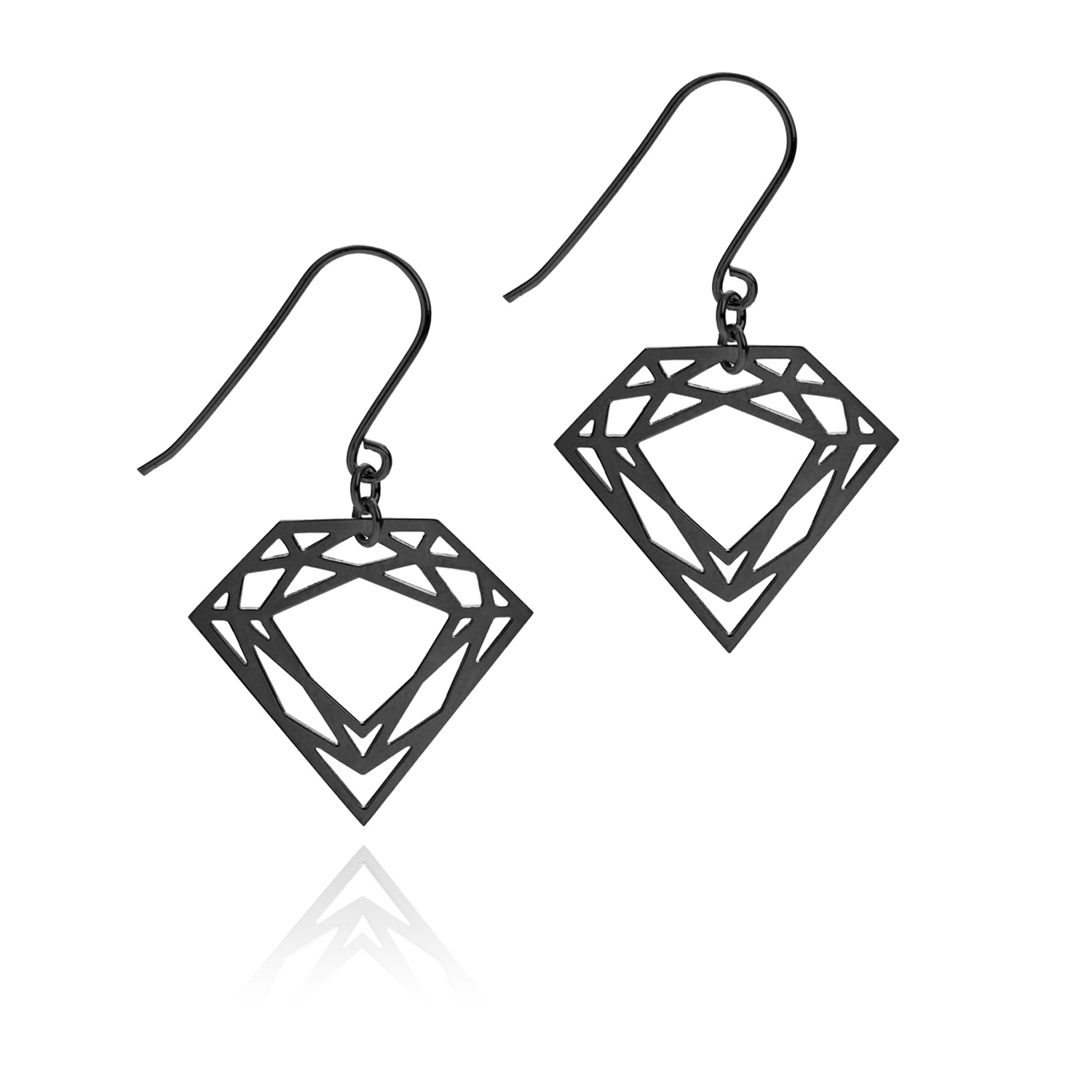 Diamond earrings clipart.