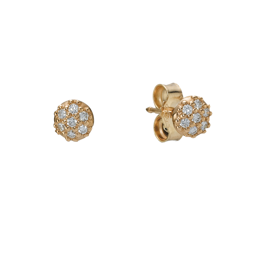 Diamond Earrings: Diamond Stud Earrings Gold.