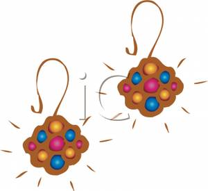 Pair of Earrings.