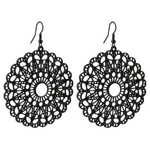 Earrings Clipart Black And White Hd.