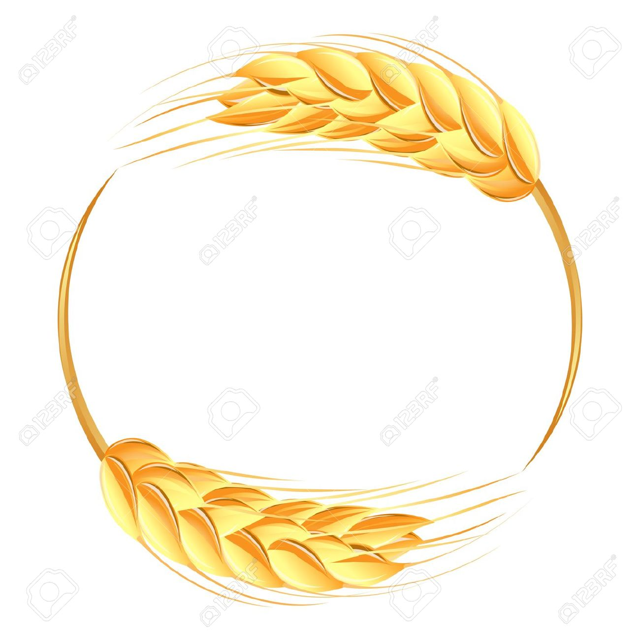 Wheat Ears Icon Royalty Free Cliparts, Vectors, And Stock.
