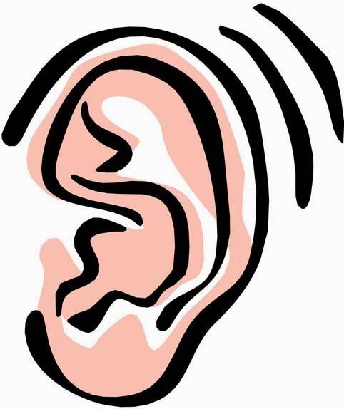 Ear Clip Art.