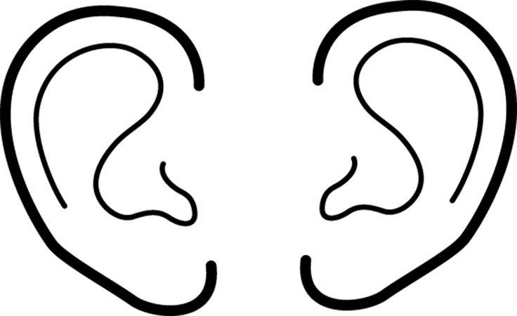 Ears clip art.