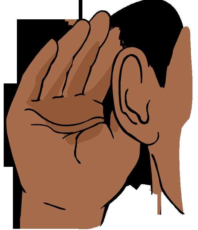 Animated Ear Clipart.