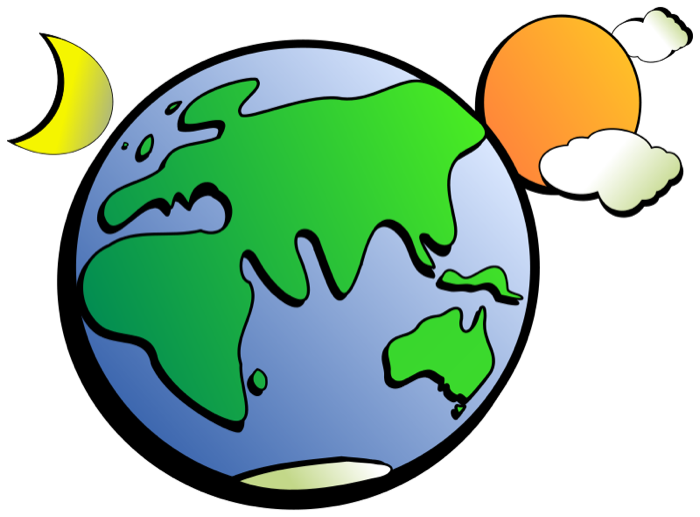 Rotation of the earth clipart - Clipground