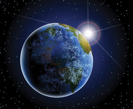 Earth from Space Clipart Picture Free Download.