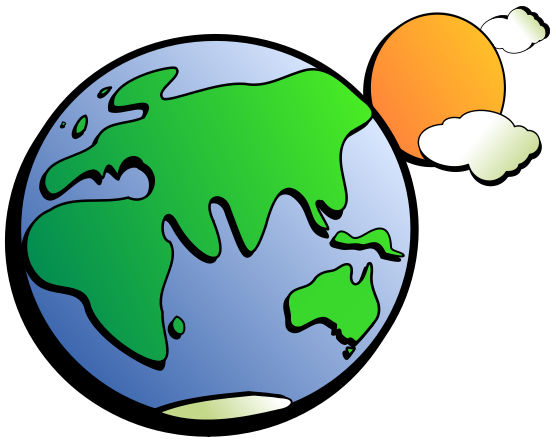 Earth And Space Clipart.