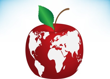 Apple Clip Art, Vector Apple.