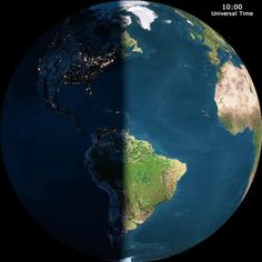 Earth from space at night clipart.