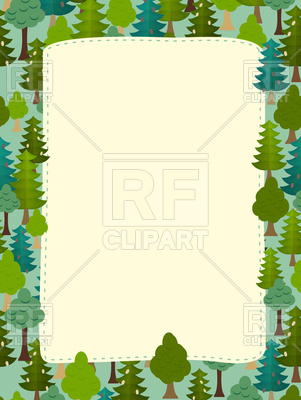Earth day frame with space for text Vector Image.
