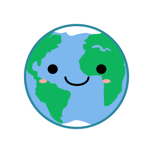 Earth Cartoon Clipart.