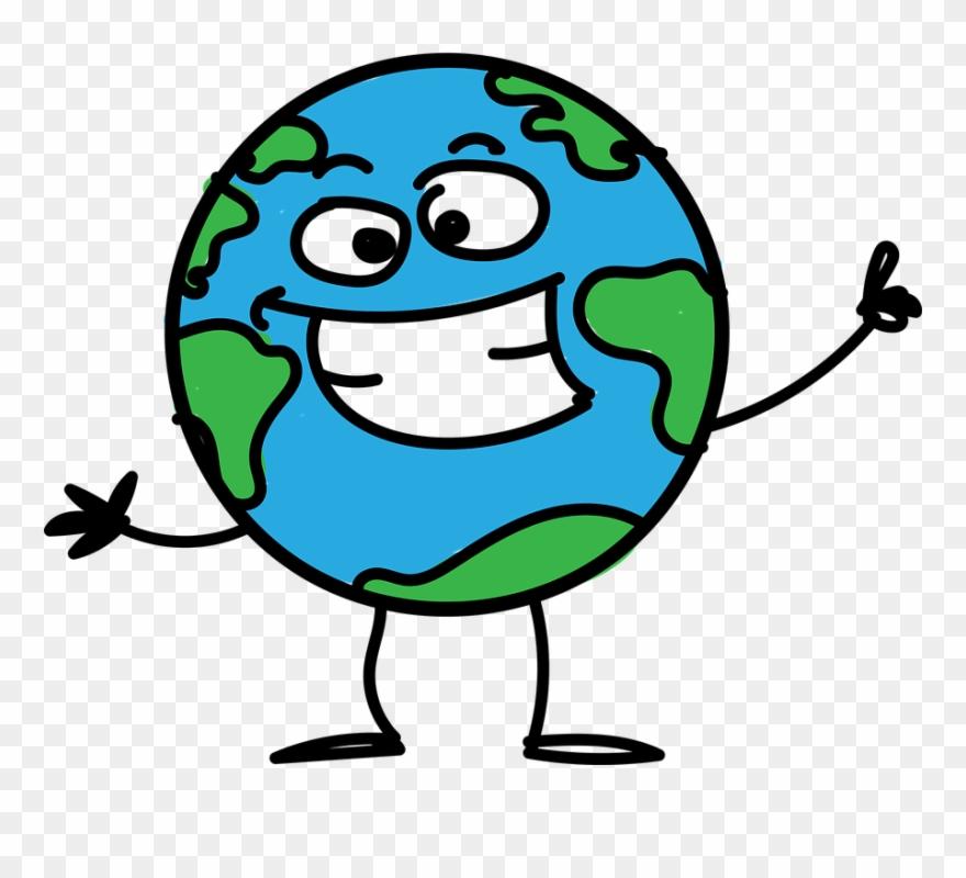 Cartoon Of Earth.