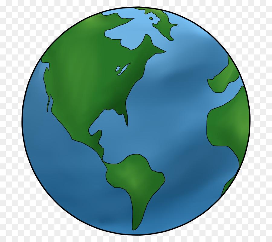 Earth Cartoon Drawing clipart.