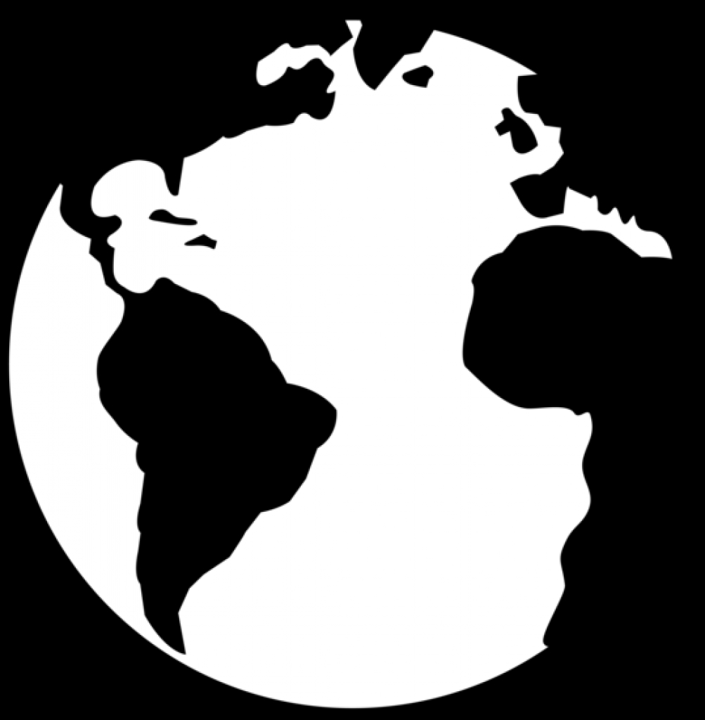 clipart earth black and white clipart earth black and white planet.