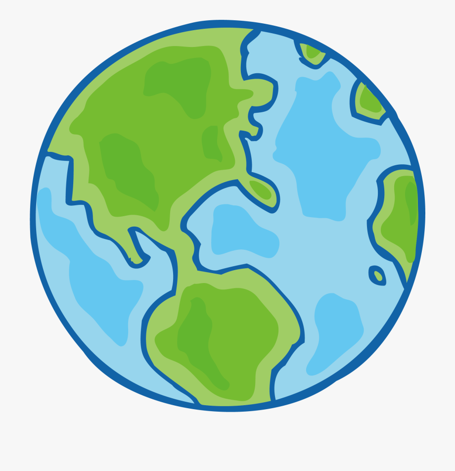Earth Drawing Cartoon Free Hd Image.