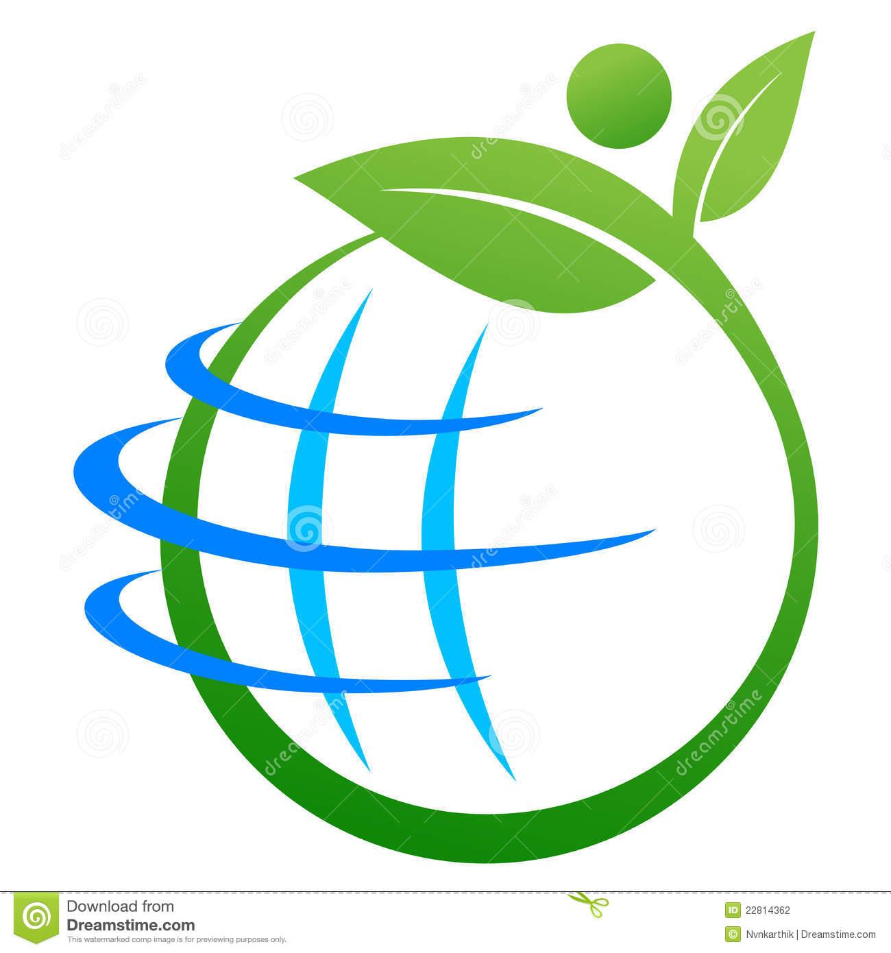 Earth Clipart Logo.