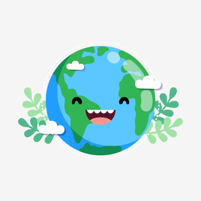 Download Free png Sick Of The Earth, Earth Clipart, Cartoon, Fever.