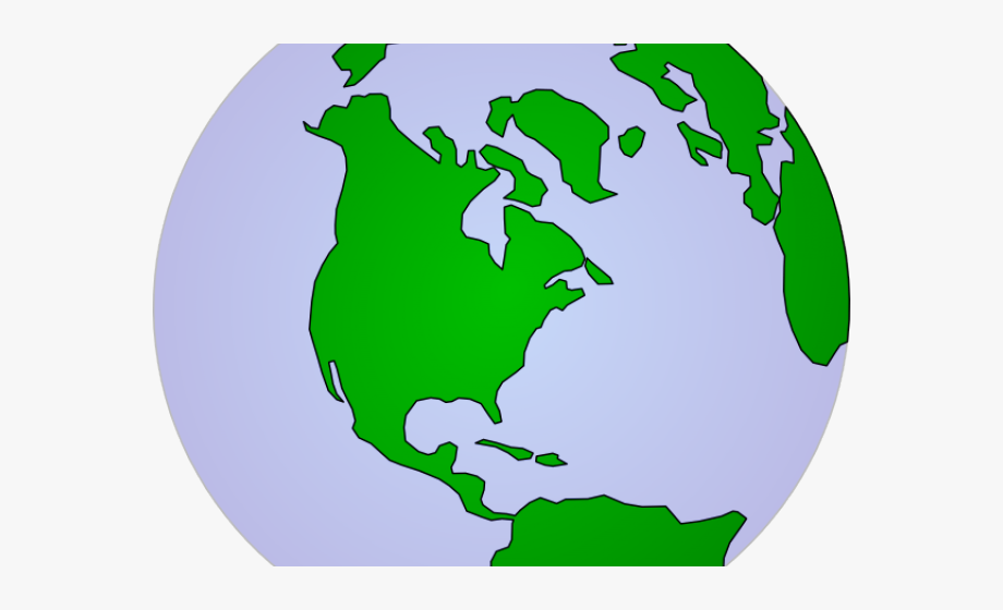 Planet Earth Clipart Continent.