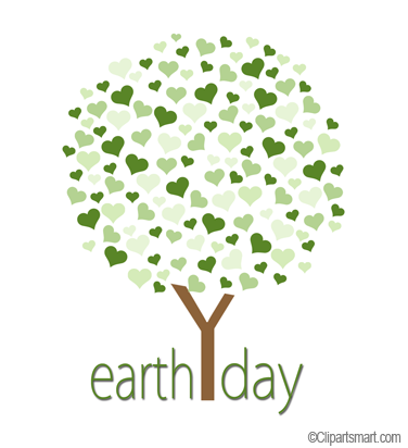 Earth Day 2015 Clipart.