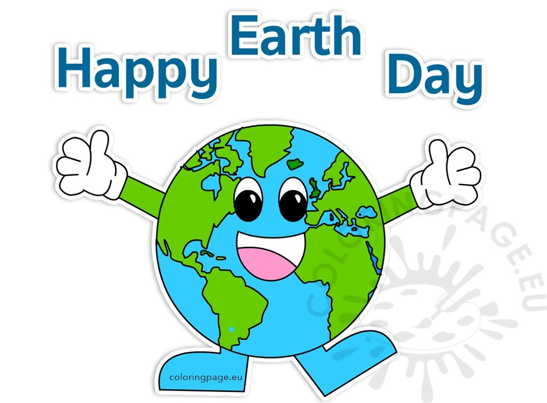 Happy Earth Day 2017 clipart.