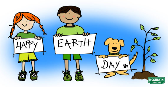 Earth Day Clipart 2018.