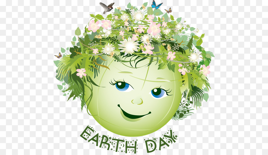 Happy Earth Day clipart.