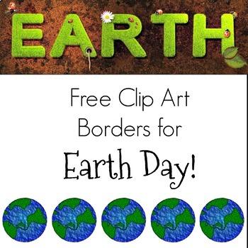 Earth Day Clip Art Borders.