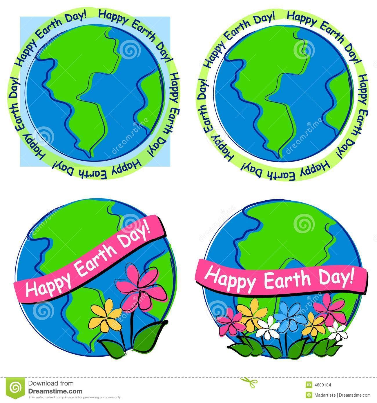 Happy Earth Day Clip Art Stock Photos, Images, & Pictures.