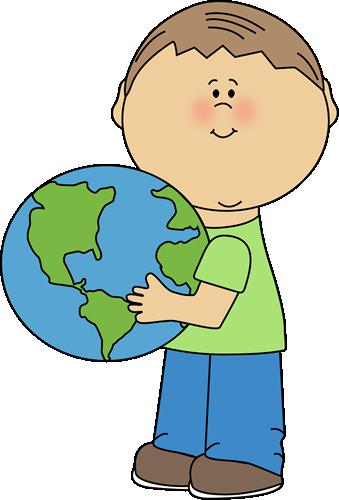 cute earth clipart #17