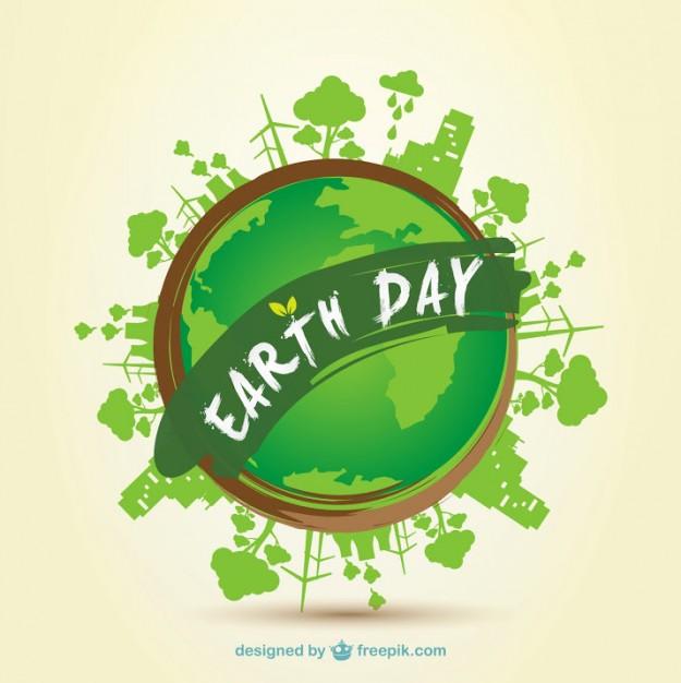 Earth Day 2014 clip art.