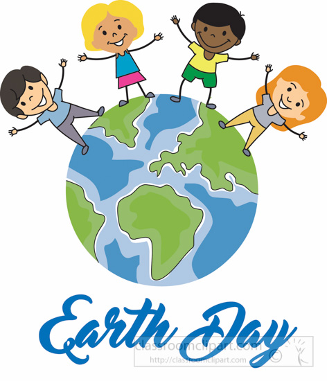 Children Celebrating Earth Day Clipart 22a » Clipart Station.