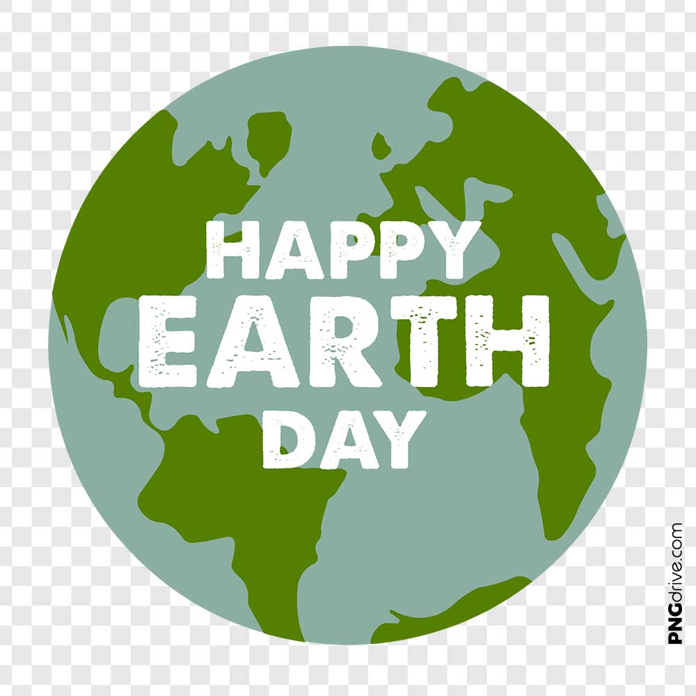 Happy Earth Day PNG Images.